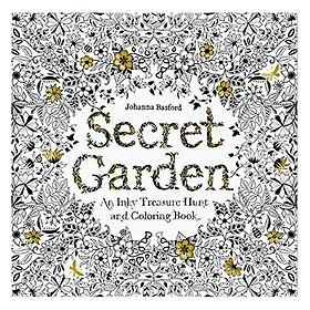 Hình đại diện sản phẩm Postcard Tô Màu - Secret Garden