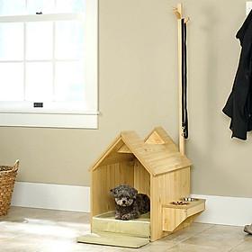 Nhà Gỗ Xinh Xắn Cho Chó Mèo DH008