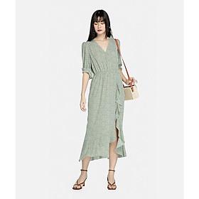 HNOSS Đầm boho vạt bèo 80% Polyester 20% Coton CMS12012047