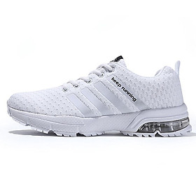 Women/Men Casual Sport Air Cushion Breathable Running Sneaker Big Size Shoe
