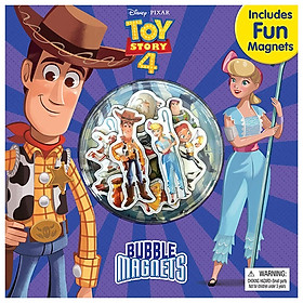 Disney Toy Story 4 Bubble Magnet Book