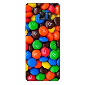 Ốp lưng nhựa cứng nhám dành cho Samsung Galaxy Note FE in hình Kẹo Ngọt
