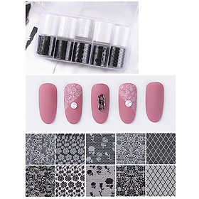 Nail Star Transfer Paper Starry Sky Series Set Nail Sticker 10 Mixed Nail Art Creation