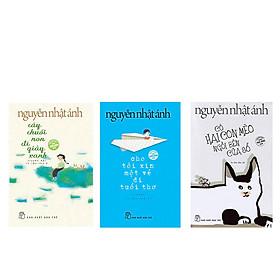 Combo 3 cuốn Cây chuối non đi giày xanh + Cho tôi xin một vé đi tuổi thơ +Có hai con mèo ngồi bên cửa sổ