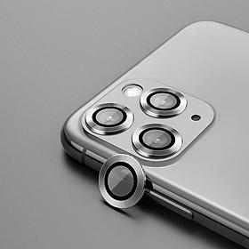 Bộ miếng dán kính cường lực bảo vệ Camera cho iPhone 11 Pro / 11 Pro Max Kuzoom mang  lại khả năng chụp hình sắc nét full HD (độ cứng 9H, chống trầy, chống chụi & vân tay, bảo vệ toàn diện)