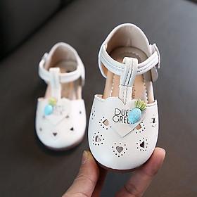 Giày sandal cho bé gái kiểu búp bê tiểu thư công chúa cho bé 1 - 5 tuổi da mềm đế chống trơn đi học, đi chơi SG46