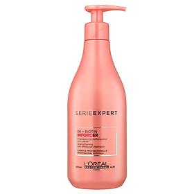 Dầu gội L'oreal Serie Expert B6 + Biotin Inforcer phục hồi ngăn gãy rụng tóc 500ml - Chính hãng