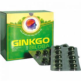 Thực phẩm chức năng Ginkgo Biloba - giúp bổ não, tăng trí nhớ