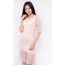 Đầm Ren Đuôi Cá Tay Bèo Zerasy Fashion