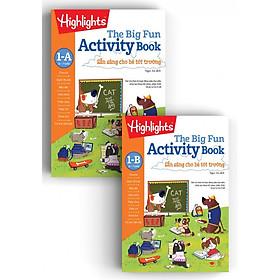 Sách Big Fun Activity Book 1 - sẵn sàng cho bé tới trường ( bộ 2 cuốn, 5 - 7 tuổi )