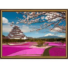 Tranh dán tường 3D VTC cảnh đẹp nước Nhật KQ0015K