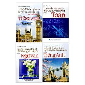 Combo 4 Cuốn Sách Tuyển Sinh Lớp 10 - A Tinh Gọn - Dễ Học - Nắm Kiến Thức