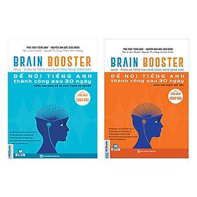 Combo Brain Booster - Nghe Phản Xạ Tiếng Anh Nhờ Công Nghệ Sóng Não Để Nói Tiếng Anh Thành Công Sau 30 Ngày (Tặng kèm iring siêu dễ thương s2)