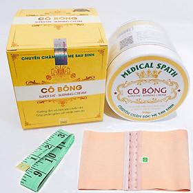 Hình đại diện sản phẩm Kem tan mỡ Cô Bông 250g + Tặng Nịt bụng và Thước Dây
