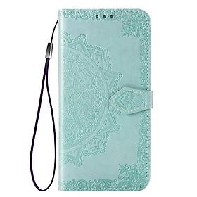 Bao da điện thoại dập nổi họa tiết hoa cho Samsung Galaxy A51 5G/Samsung A51 5G/ Galaxy A51 A71 5G