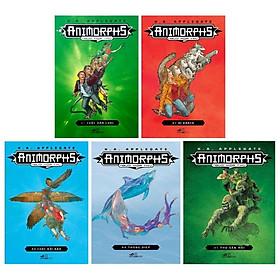 Download sách Combo Animorphs - Người Hóa Thú: Tập 1 Đến Tập 5 ( Bộ 5 Tập)