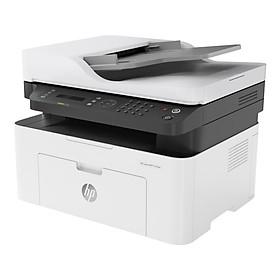 Máy in đa chức năng (In, copy, scan, fax, wifi) đen trắng HP LaserJet MFP 137fnw_4ZB84A – Hàng chính hãng