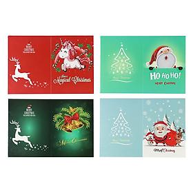 5D Diamond Painting Christmas Cards Diamond Embroidery Birthday Paper DIY Greeting Postcards Cartoon Craft Kids Gift