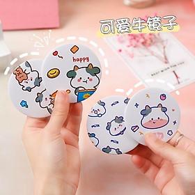 Gương tròn nhỏ mini tiện lợi siêu xinh 7cm - BaloGigo