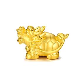Charm vàng Long Quy 24k 999 size Mini - Ancarat