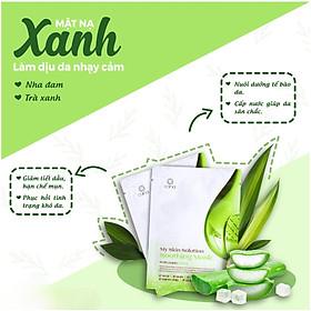 [ĐẮP MẶT BAO PHÊ] Mặt nạ chăm sóc da Hàn Quốc CANA My Skin Solution: chăm sóc da mụn, da lão hoá, dưỡng trắng, làm dịu da, dưỡng và chiết xuất trái nhàu (25 & 30 gram))