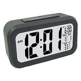 Đồng hồ để bàn báo thức kỹ thuật số cảm biến phát sáng trong đêm