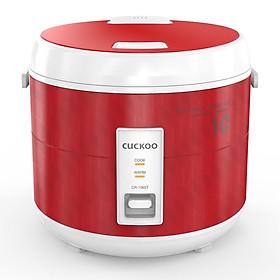 Nồi cơm điện CUCKOO CR-1065 1.8L Màu Đỏ - Hàng chính hãng