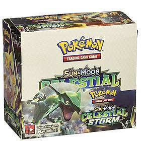 Bộ Thẻ Bài Pokemon 324 Thẻ Trading Card Game Sun&Moon Celestial Storm TCG Sưu Tập Đẹp Đọc Đáo