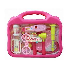 Hộp đồ chơi bác sĩ Toys House 660-17 màu hồng