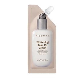 Kem dưỡng trắng da nâng tông Hidehere Whitening Tone Up Cream 25ml