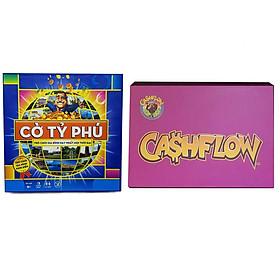 Combo dạy con làm giàu: Cờ Tỷ Phú Việt Nam + Game Cashflow
