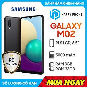 Điện Thoại Samsung Galaxy M02 (3GB/32GB) - Hàng Chính Hãng - Đã kích hoạt bảo hành điện tử
