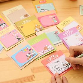 COMBO 5 tập giấy note nhớ hình chữ nhật