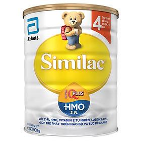 Sữa Bột Abbott Similac IQ4 HMO (900g)