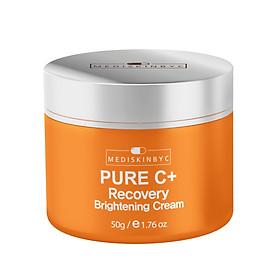 Kem Dưỡng Trắng Da  MEDISKINBYC Pure C+ Recovery Brightening Cream 50g