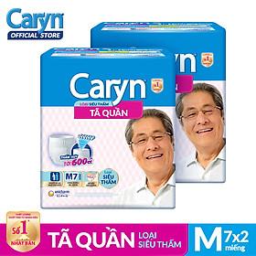 Bộ 2 Gói Tã Quần Caryn Siêu Thấm M7 TUCR00004CB