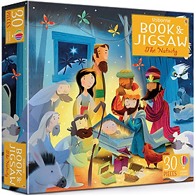 Usborne Book and Jigsaw: The Nativity (Contains 30 Pieces Jigsaw)