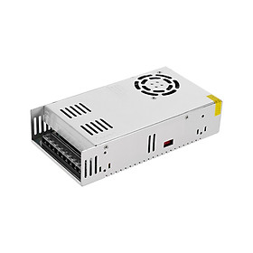 Creality 3D DC 24V 15A 360W Universal Regulated Switching Power Supply For 3D Printer Ender-3 LED Strip Light Computer - Silver