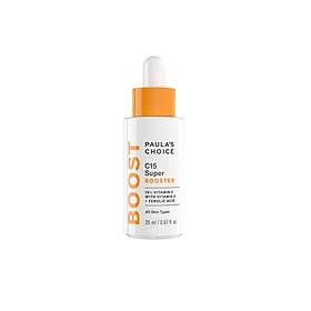 Tinh chất làm sáng da chống lão hóa Vitamin C Paula's Choice C15 Super Booster 20ml (Nhập khẩu)