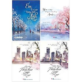 Combo 3 cuốn ngôn tình lãng mạn: Em Là Vì Sao Trong Mắt Anh + Yêu em bằng cả trái tim Anh + Giữa Chốn Phồn Hoa Gặp Được Người (2 Tập)
