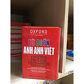 Từ điển Oxford Anh Anh Việt ( bìa đỏ hộp )( tái bản mới nhất  2020 kt)