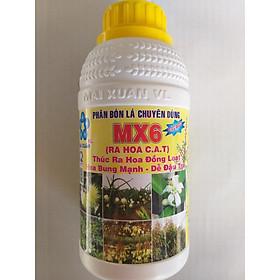 Phân bón lá chuyên dùng MX6 - RA HOA C.A.T - Chai 500ml