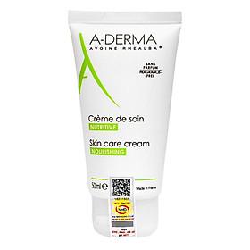 Kem Dưỡng Ẩm A-Derma Cho Da Kích Ứng Skincare Cream (50ml)