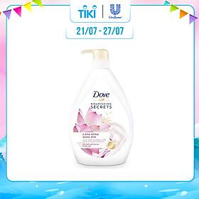 Sữa Tắm Dove Căng Bóng Sáng Mịn 530G