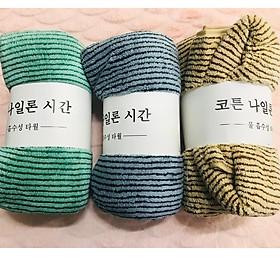 Khăn Tắm Lau Ủm Cotton Xuất Hàn 70 x 140 cm
