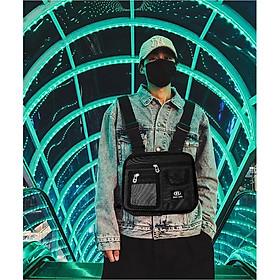 Túi đeo chéo nam nữ unisex túi messenger du lịch thời trang Hàn quốc HOT TREND 2020 Bee Gee 083 chống thấm nước