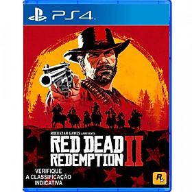 Đĩa Game Ps4: Red Dead Redemption 2 - Hàng Nhập Khẩu