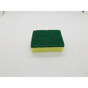 Miếng cọ rửa chén bát xanh vàng tiện dụng