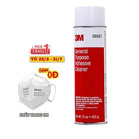 Dung Dịch Tẩy Keo, Nhựa Đường 3M 08987 (425 g)
