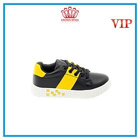 Giày Thể Thao Sneaker Bé Trai Bé Gái Đi Học Cổ Thấp Crown Space UK Active Trẻ em Cao Cấp CRUK255 Siêu Nhẹ Êm Size 28-36/4-14 Tuổi